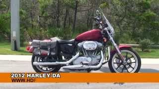 6. Used 2012 Harley Davidson Sportster Superlow Motorcycles for sale
