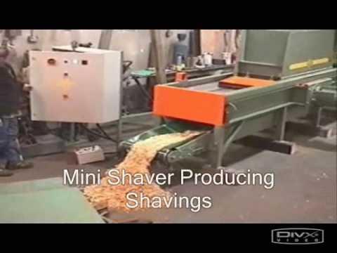 Blue Diamond Log Shaving Machine Wood Shavings from Logs & Slabs