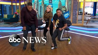Video The man behind a hot dance craze, Shiggy, busts a move on 'GMA Day'! MP3, 3GP, MP4, WEBM, AVI, FLV Oktober 2018