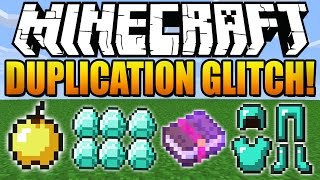 ★ How To Duplicate Items in Minecraft 1.8.1 (Diamonds, Tools) (Minecraft 1.8) (Duplication Glitch)