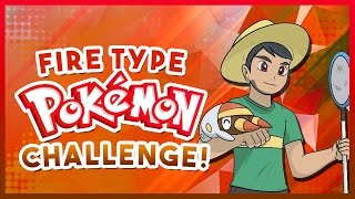 FIRE TYPE POKEMON CHALLENGE! Pokemon Quiz with aDrive! by aDrive