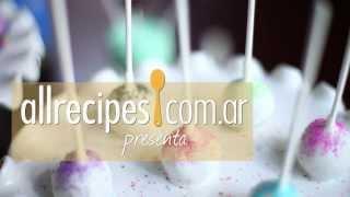 Cakepops de vainilla