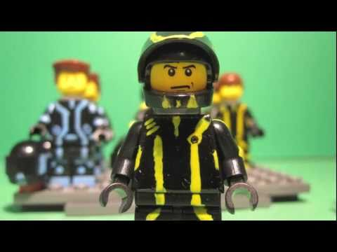 Custom Lego Tron Figures-Ebay Edition