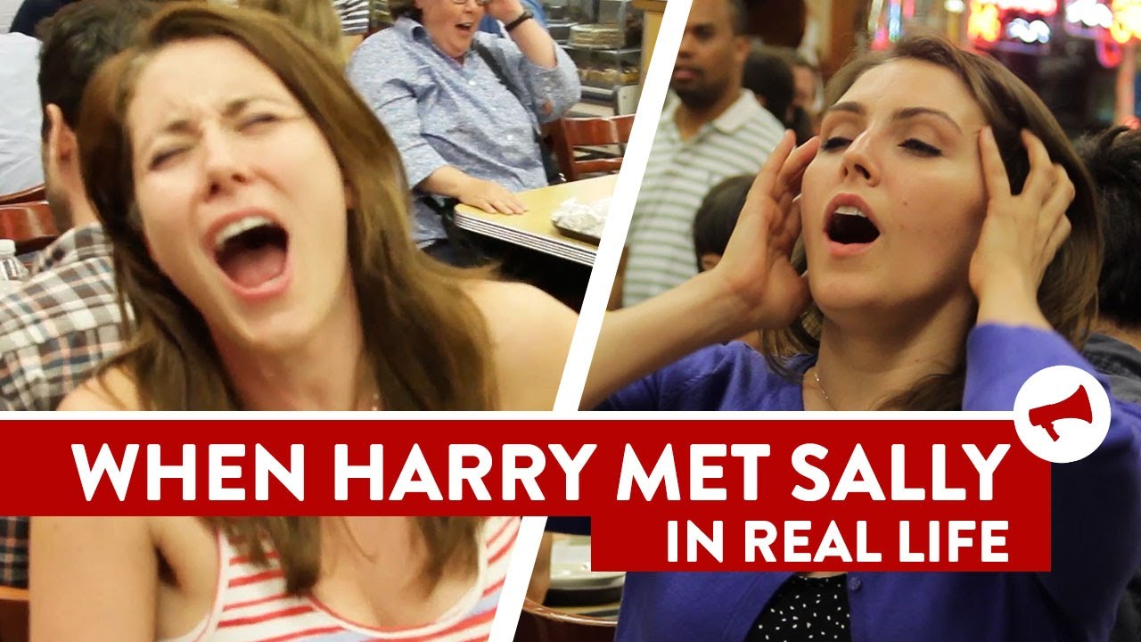 'When Harry Met Sally' Orgasm Orgy