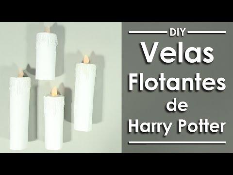 Velas Flotantes De Harry Potter Manualidades