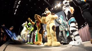 """AnthroCon 2012 - Dance Competion End to LMFAO """"I'm Sexy and I Know It"""""""