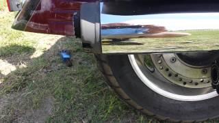 10. 2008 Honda VTX 1800 modification to stock pipes