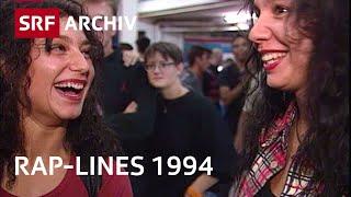 Kontroverse Rap-Lines - Ice Cube und Public Enemy im Hallenstadion Zürich (1994)   SRF Archiv