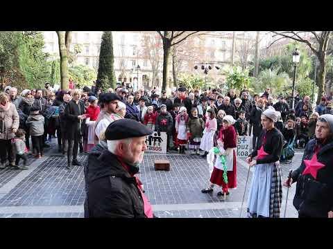 19/01/04 Manifestazioa deitu du GuraSOS-ek, 2019ko otsaila amaierarako