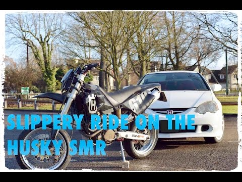 Husqvarna 610 SMR Review ride out