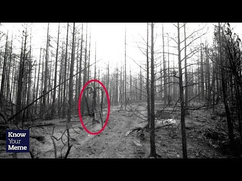 knowyourmeme. know your meme - Slender Man Outtakes at - http://www.youtube.com/watch?v=FPszW8BXbZw Internet scientist Forest loses himself in the urban legend of a mysteriously tall and f...