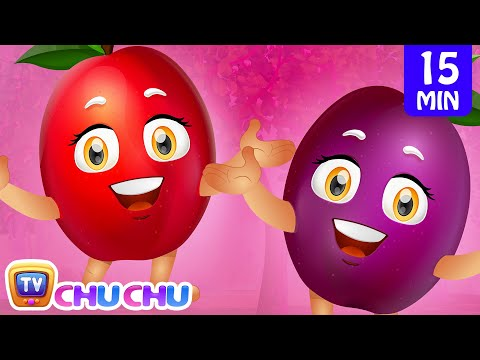 Plum Song | Learn Fruits for Kids | Fruits Songs Collection | ChuChu TV Nursery Rhymes & Kids Songs