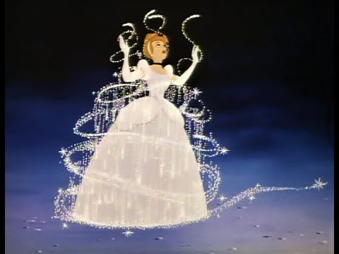 Cinderella - Laser Disc Vs. Blu-Ray Comparison