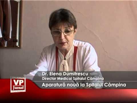 Aparatură nouă la Spitalul Câmpina