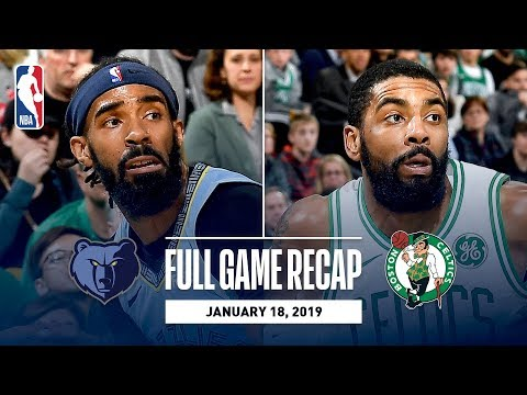 Video: Full Game Recap: Grizzlies vs Celtics | Kyrie Goes For 38 Points & 11 Assists