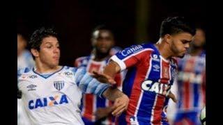 Curtam nossa página: http://www.facebook.com/LeandroSportsVideos Com dois belos gols no segundo tempo, Bahia e Avaí...