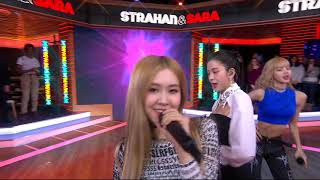 Video [EXCLUSIVE] BLACKPINK - Forever Young - Live from Strahan & Sara [2019.02.15] MP3, 3GP, MP4, WEBM, AVI, FLV Februari 2019