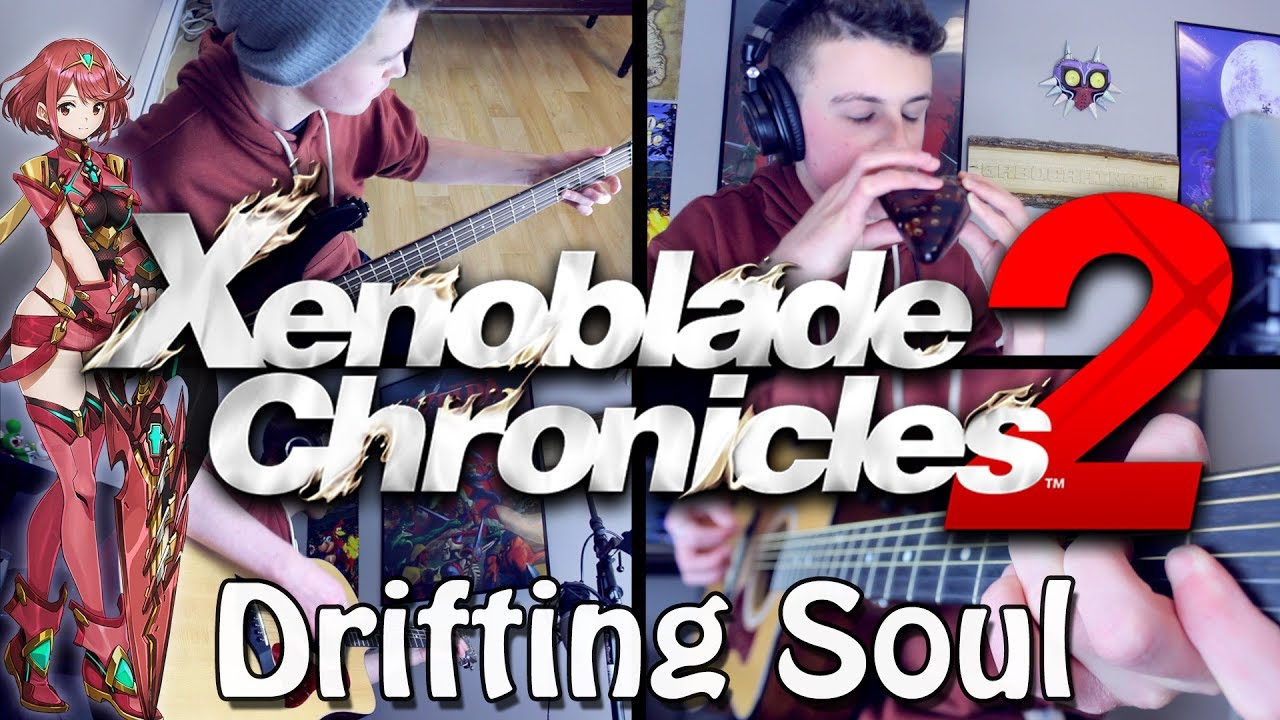 Drifting Soul – Xenoblade Chronicles 2 (Acoustic/Ocarina) Guitar Cover | Gabocarina96