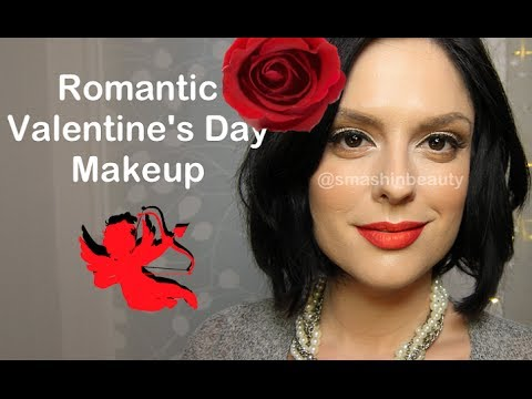 Romantic Valentine's Day makeup tutorial