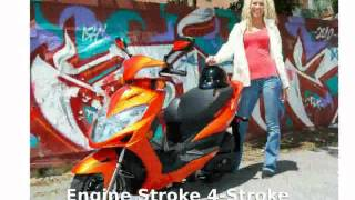 7. 2014 KYMCO Like 50 LX  Features superbike