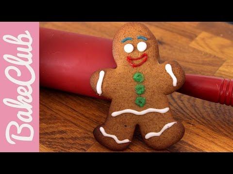 Gingerbread Man (Lebkuchenmann)   BakeClub