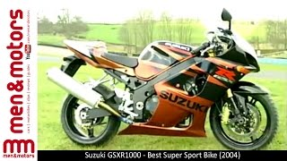 8. Suzuki GSXR1000 - Best Super Sport Bike (2004)