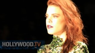MT Costello At NYFW - Hollywood TV