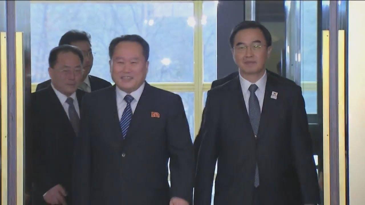 Οι Ολυμπιακοί Aγώνες φέρνουν πιο κοντά τη Βόρεια με τη Νότια Κορέα