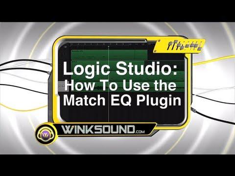 Logic Pro: How To Use the Match EQ Plugin | WinkSound