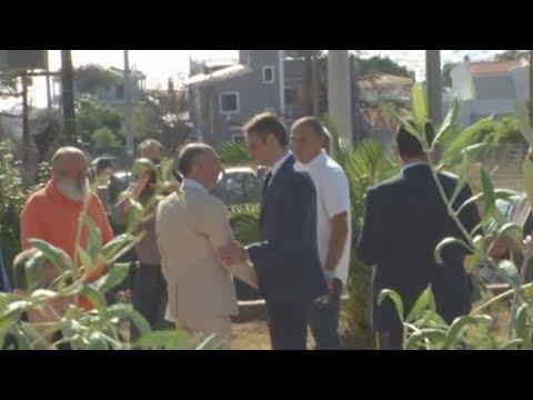 Στο μνημόσυνο για τα 102 θύματα της τραγωδίας στο Μάτι ο πρωθυπουργός