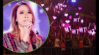 Nữ ca sĩ hạnh phúc khi ca khúc mới của cô được đông đảo mọi người ủng hộ, yêu thích.