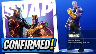 The AVENGERS Are Coming TONIGHT! | Play As THANOS! ( Fortnite LTM / Gamemode )