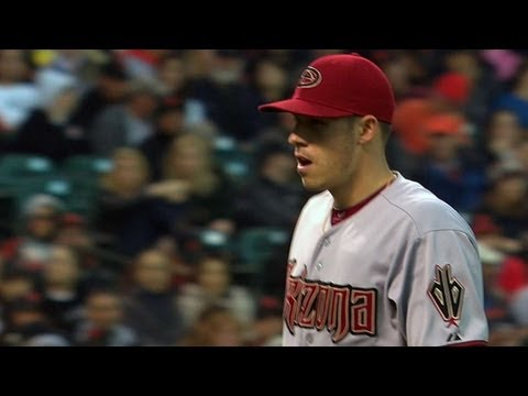 corbin - 4/23/13: Patrick Corbin pitches a terrific game in San Francisco, striking out seven over 7 1/3 innings of two-run ball Check out http://MLB.com/video for mo...