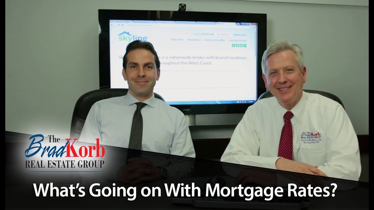 What's Going on With Mortgage Rates?