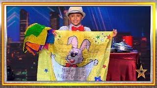 Este niño mago se gana al jurado con su humor y carisma | Audiciones 2 | Got Talent España 2019