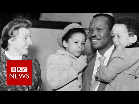 The love story that shocked the world - BBC News