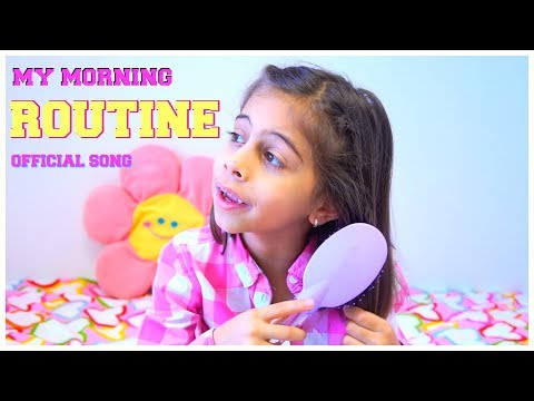 My MORNING ROUTINE Song - Nursery Rhymes for Children by Kids Learning Songs