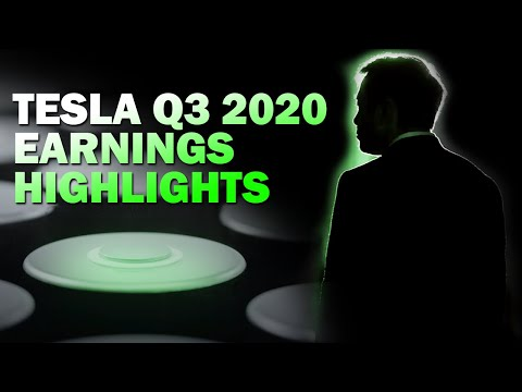 Tesla Q3 2020 Earnings Highlights - Elon Musk Hints at Production Roadmap for 2021