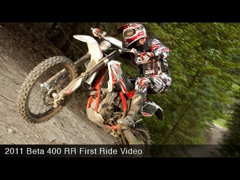 MotoUSA 2011 Beta 400 RR First Ride