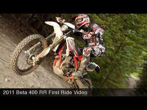 MotoUSA 2011 Beta 400 RR First Ride