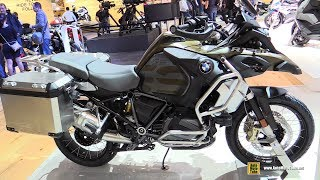 8. 2019 BMW R1250GS Adventure Kalamata Matt - Walkaround - Debut at 2018 EICMA Milan