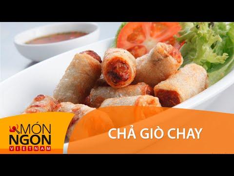 Cách làm chả giò chay | món ngon Việt