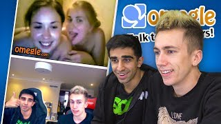 OMEGLE #3 with Vikkstar & Simon (Omegle Funny Moments)