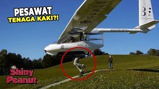 Video Jangan Sampe Kepleset! Pesawat Ini Lepas Landas Pake Kaki MP3, 3GP, MP4, WEBM, AVI, FLV Maret 2019