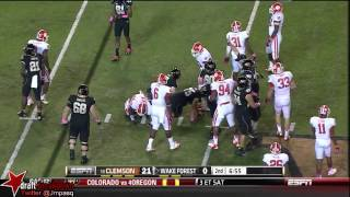 Vic Beasley vs Wake Forest (2012)