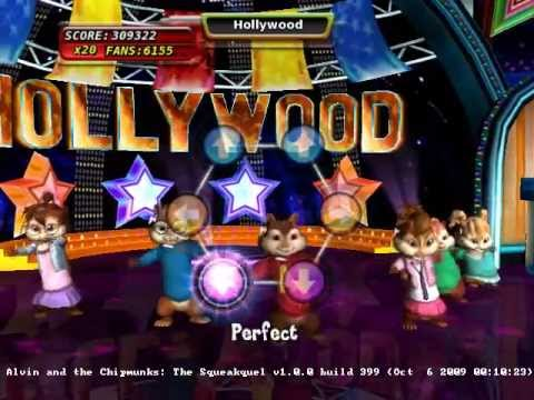 alvin and the chipmunks the squeakquel wii game
