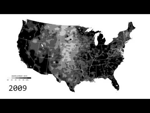 Animated Map of Unemployment