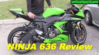 10. 2013 Kawasaki NINJA 636 Review - Impressions from these 2 Riders