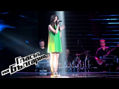Лидия Ганева – Driver's License   Кастинги на тъмно   Гласът на България 2021