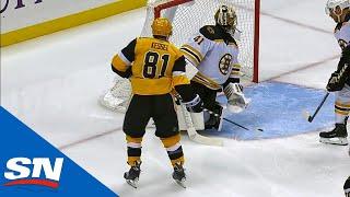 Impressive Passing Between Phil Kessel & Evgeni Malkin Leads To Penguins Goal by Sportsnet Canada